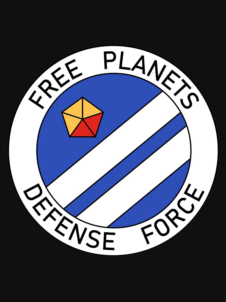 Free Planets Defense Force insignia by supanerd01