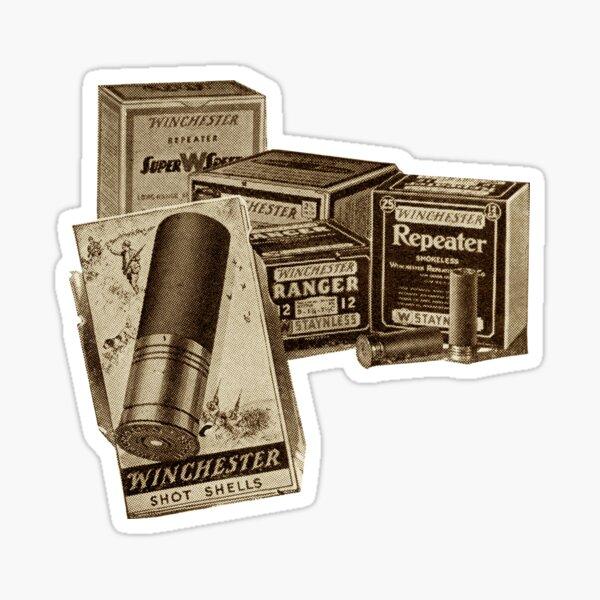 1932 Winchester. Finest Ammunition !  Sticker