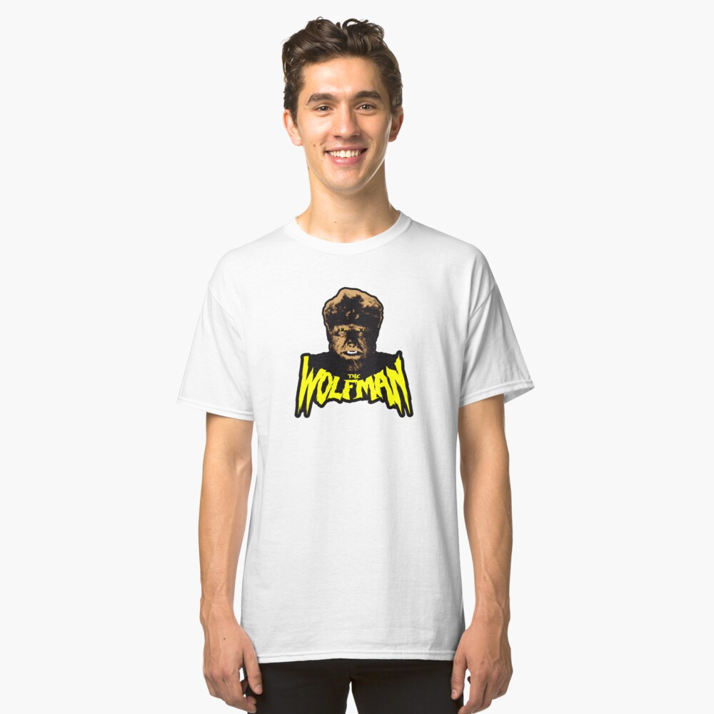 The Wolfman Classic T-Shirt Front