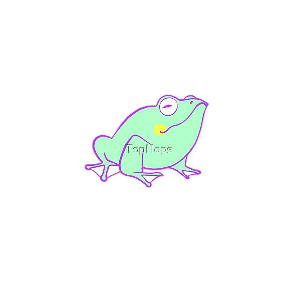 Proud Frog by TopHops