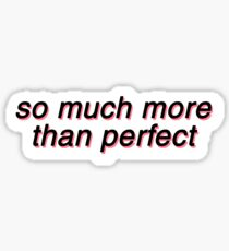 so much more than perfect   Lil Peep Star Shopping Sticker Sticker