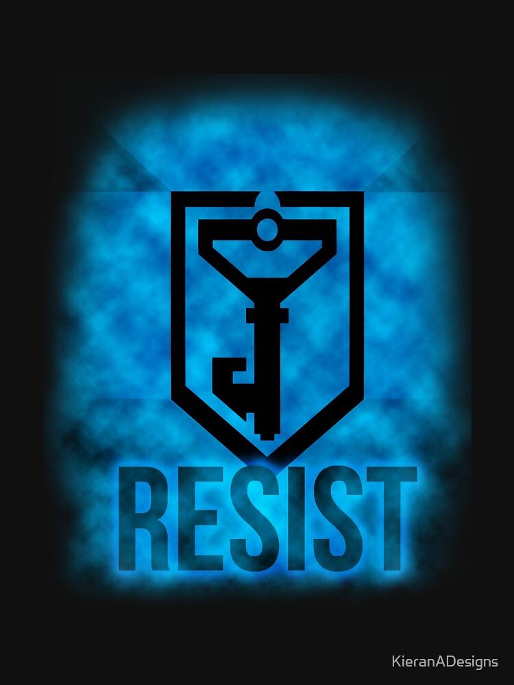 Resist! - Ingress by KieranADesigns