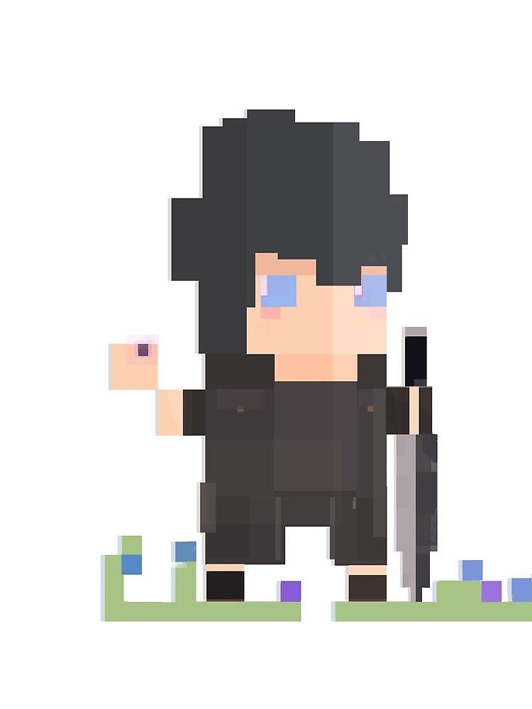 Pixel Noctis by singtome