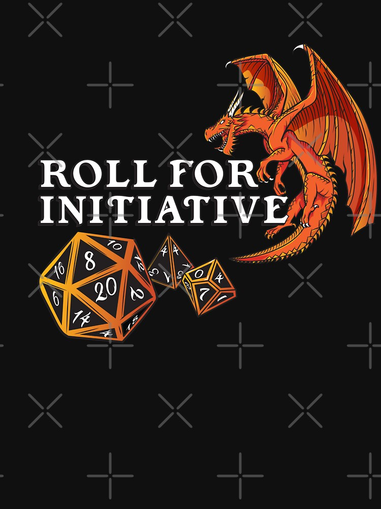 Initiative Dragon d20, Dice, Dungeon by Nocturnalcultur