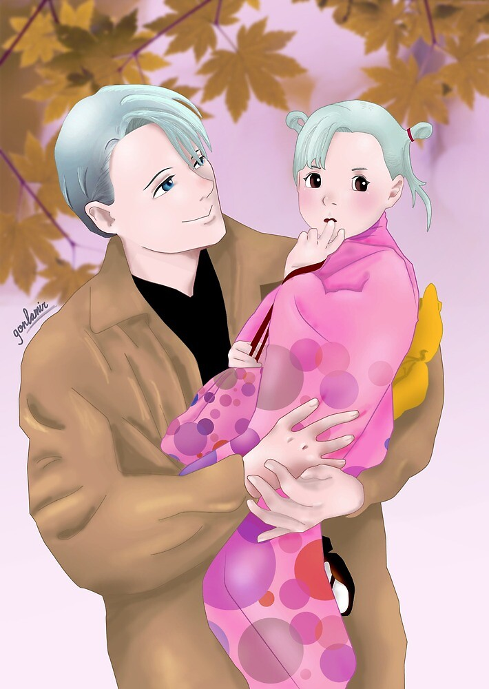 Victor Nikiforov and daughter by LGlezMiranda