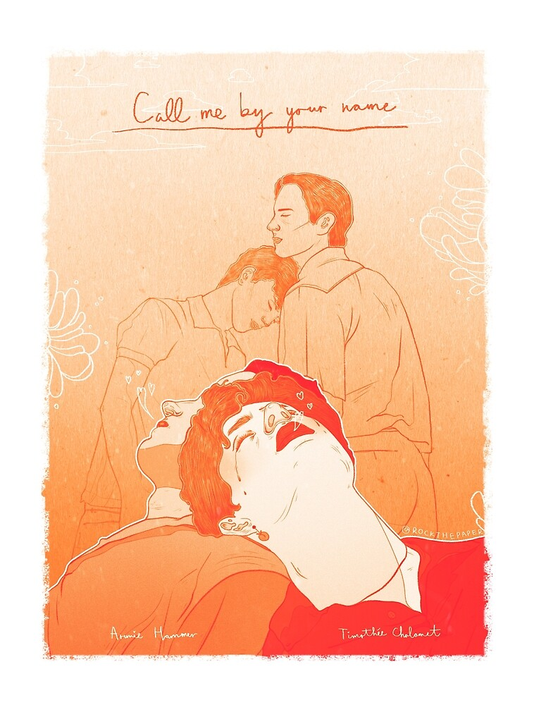Call me by your name by Rock The Paper