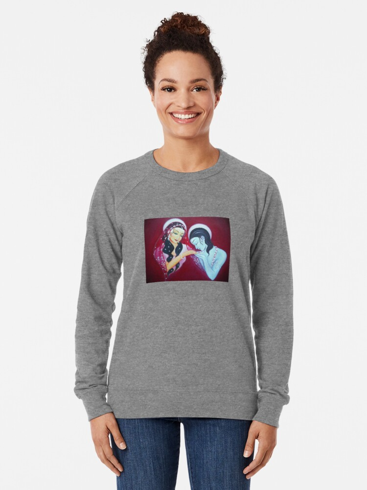 Alternate view of Honouring You Deeply Lightweight Sweatshirt