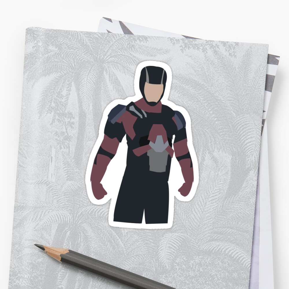 Ray Palmer Sticker Front