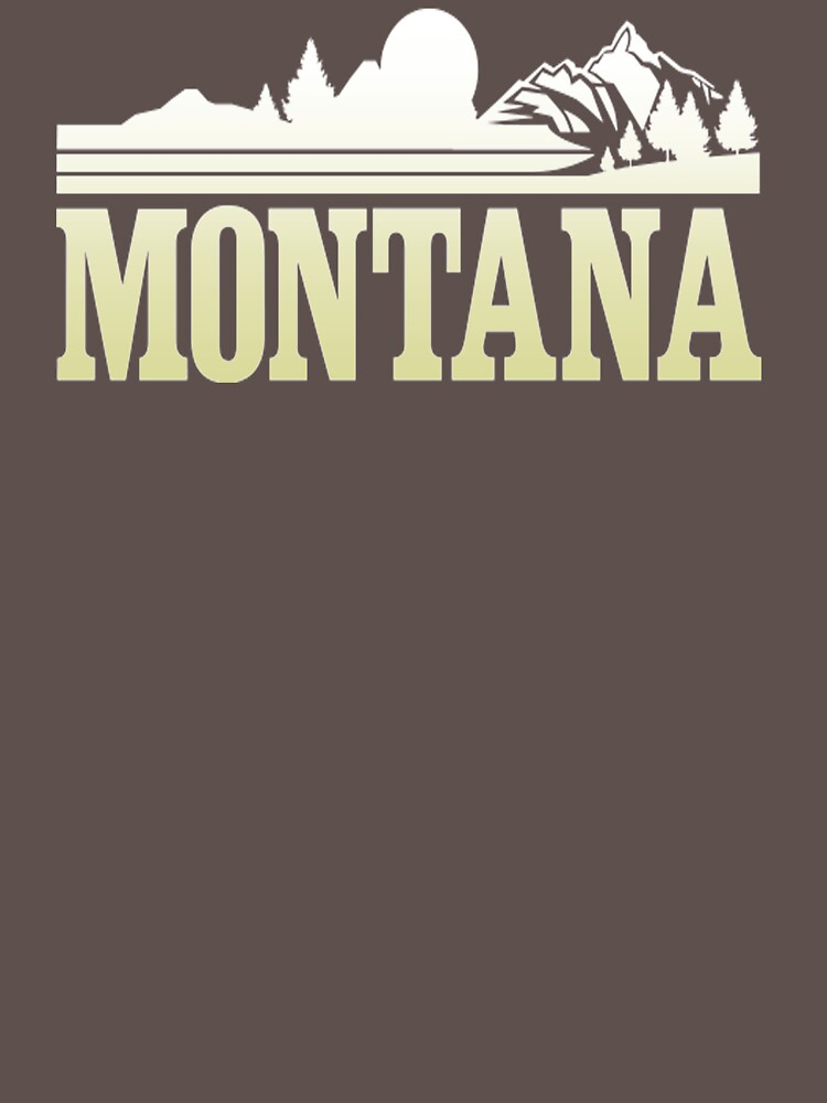 Montana Mountains XL179 Best Trending by Diniansia