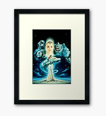 The Neverending Story Framed Print