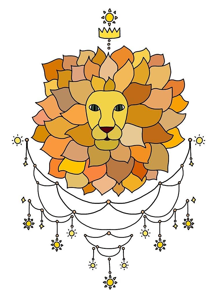 Sun Lion by SmallOddLion