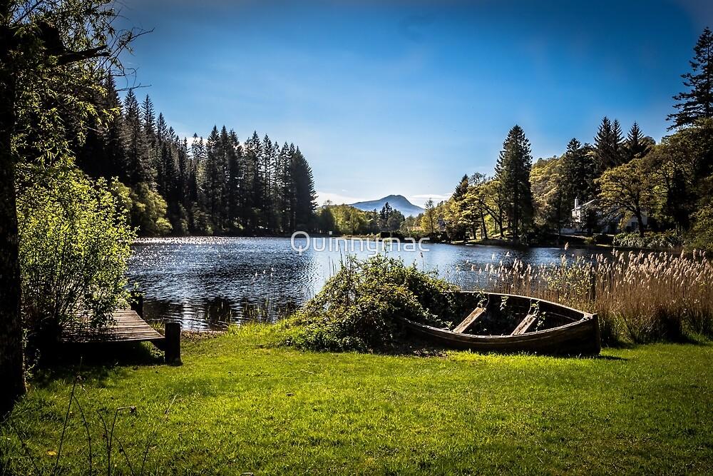Loch Ard - Scotland by Quinnymac