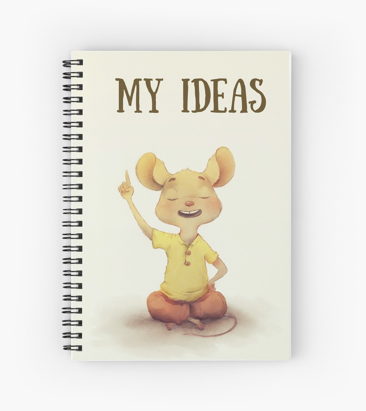 My Ideas Journal Spiral Notebook by Paul Hamilton