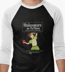 Black T Shirt Shakespeare Men's Baseball ¾ T-Shirt
