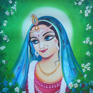 Radharani - The Indian Goddess of Love by AlexBilbija