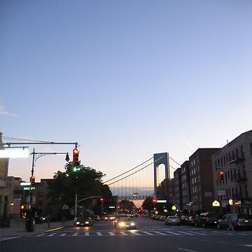 Bay Ridge, Verrazano-Narrows Bridge, Brooklyn, New York by znamenski