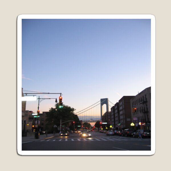 Bay Ridge, Verrazano-Narrows Bridge, Brooklyn, New York Magnet