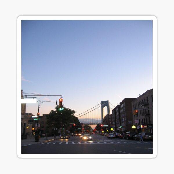 Bay Ridge, Verrazano-Narrows Bridge, Brooklyn, New York Sticker