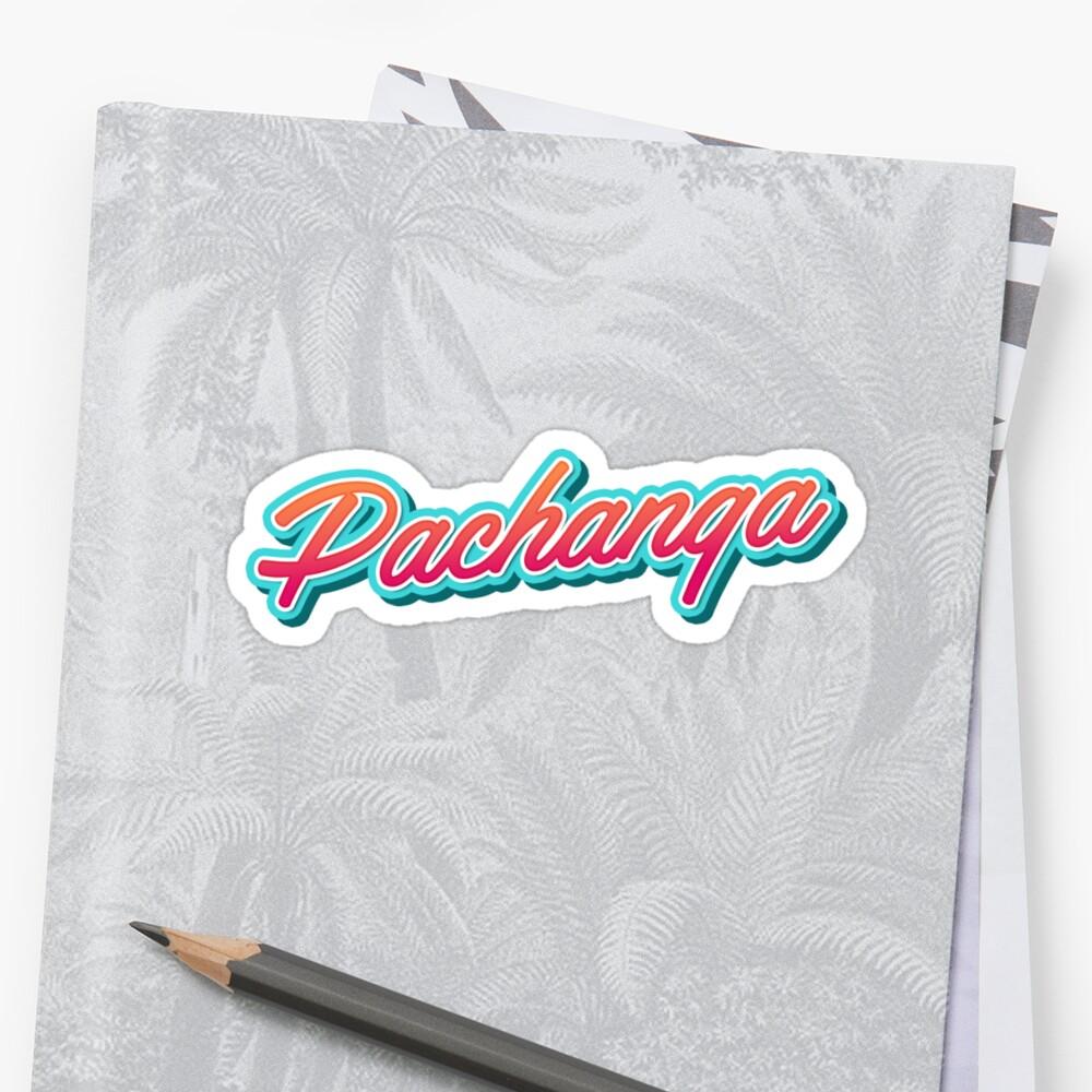 Pachanga Dance Typography by Georgi Zhelyazkov