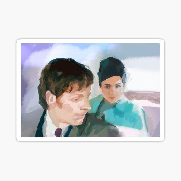 Morse + Joan Sticker