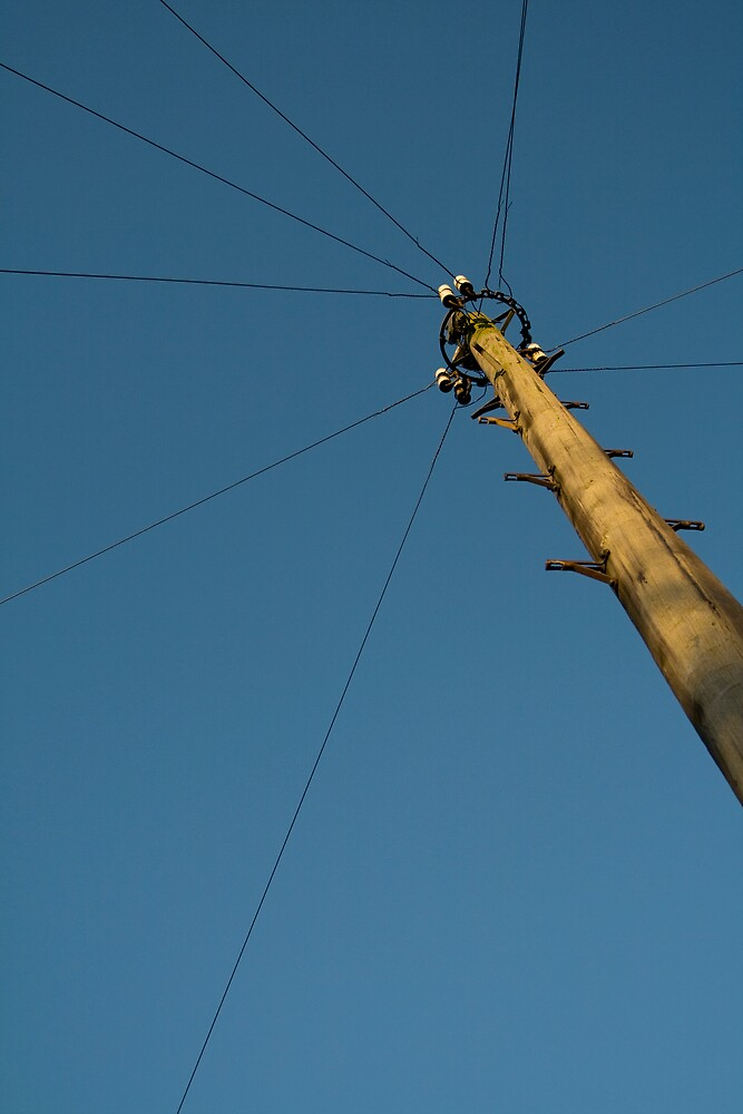 telephone pole 2 by go sugimoto