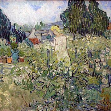 Original Vincent Willem van Gogh Impressionist Art Painting Restored by jnniepce