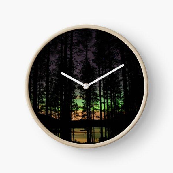 thru the woods Clock
