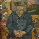 Original Vincent Willem van Gogh Impressionist Art Painting Restored Le Pere Tanguy by jnniepce