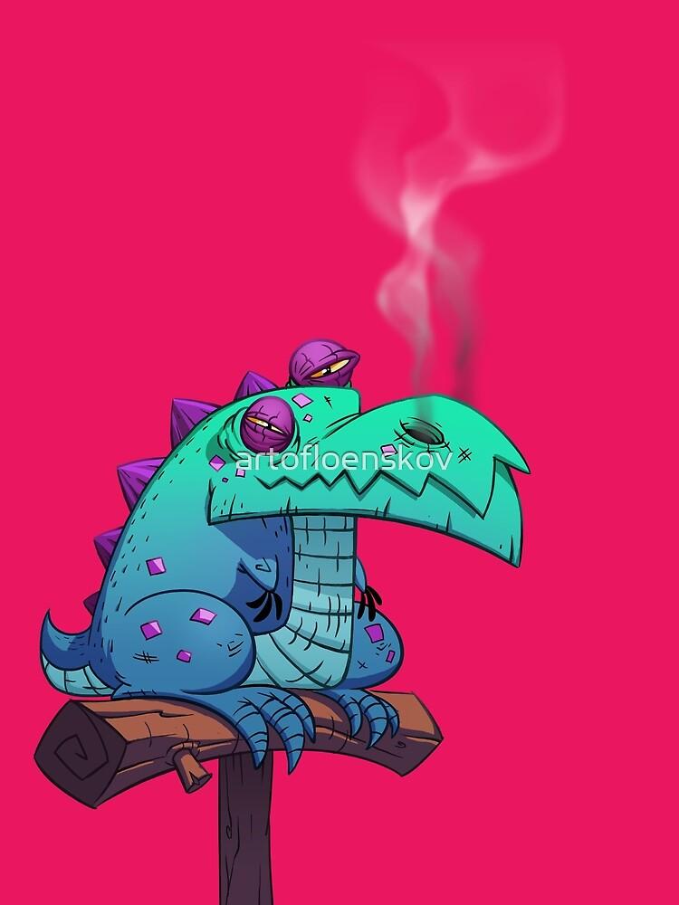 Here Be Dragons Part 03 by artofloenskov