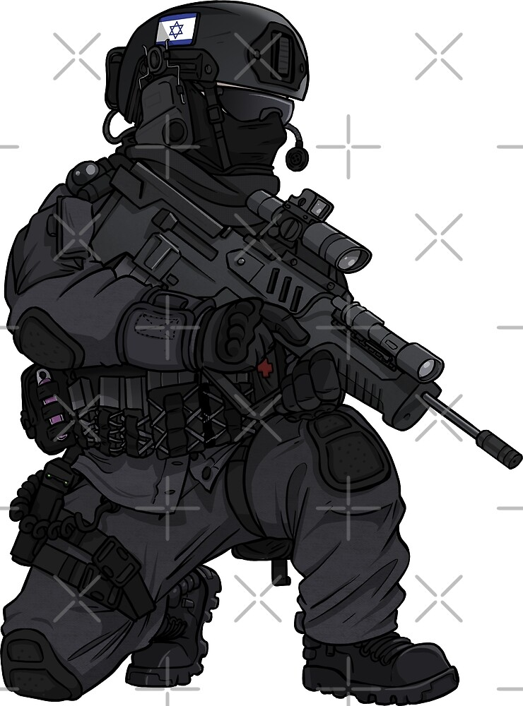 Israeli IDF Commando Operator by TacOpsGear