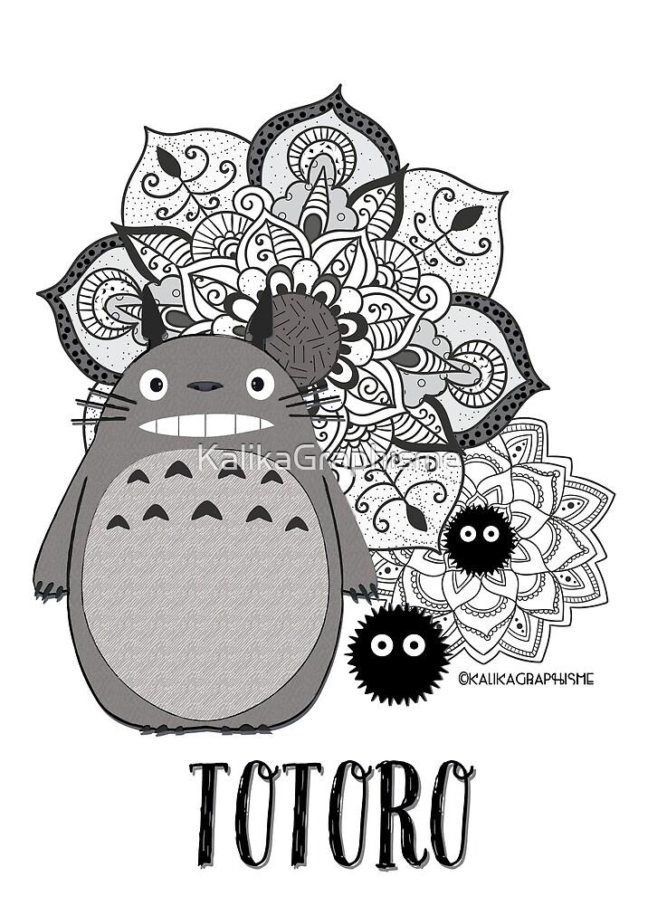 Totoro Mandala by KalikaGraphisme