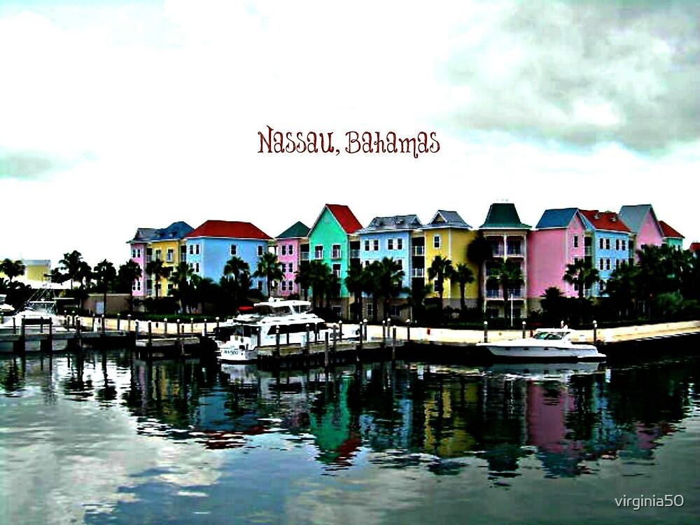 Nassau, Bahamas scenic photograph by virginia50
