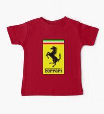 Ferrari Logo Baby Tee