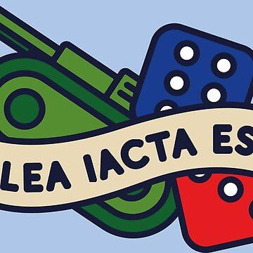 Alea Iacta Est by rapidograph