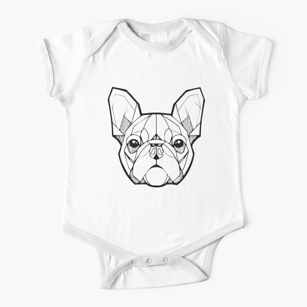 braeccesuit Bulldog French Infant Baby Boys Girls Infant Creeper Sleeveless Romper Bodysuit Onesies Jumpsuit Black