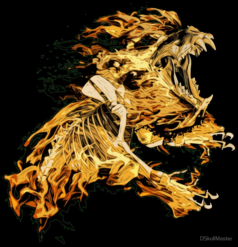 Lion Skull by DSkullMaster