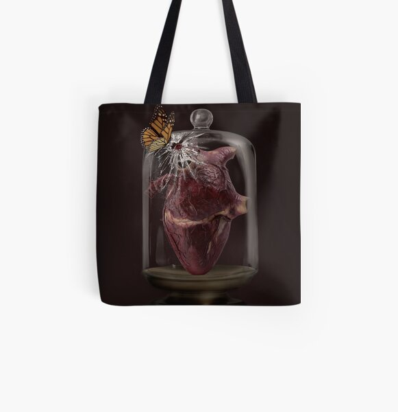 When you looked at me that way All Over Print Tote Bag