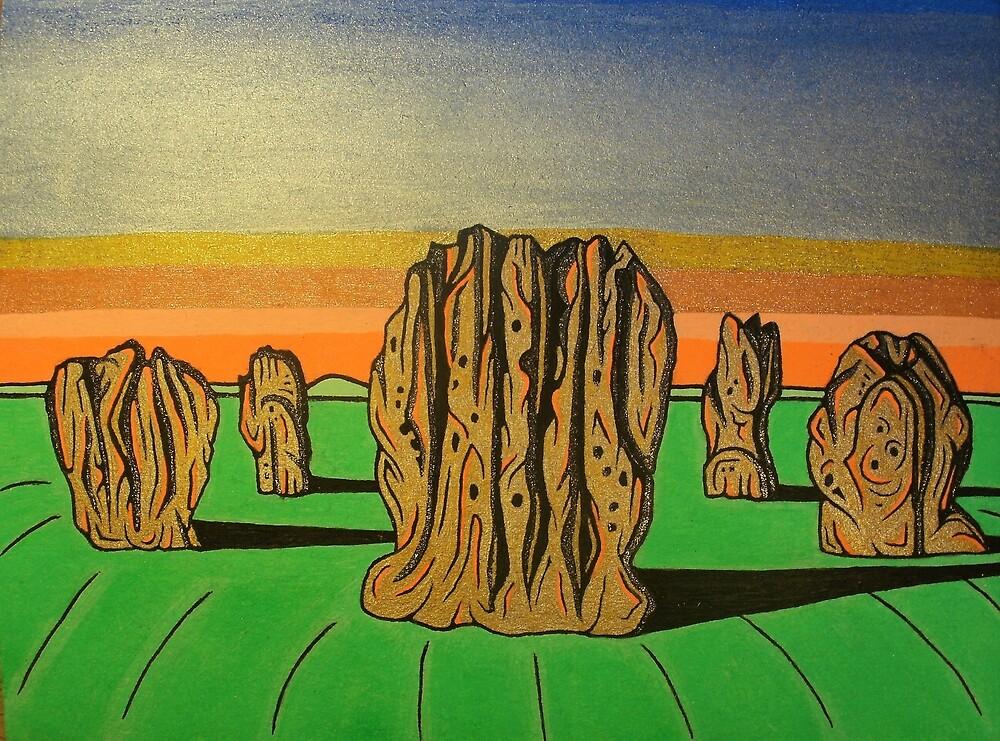 Duddo Stone Circle, Northumberland by Bladup
