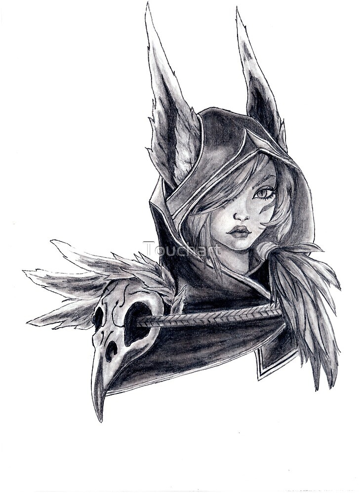 Xayah by Touchart