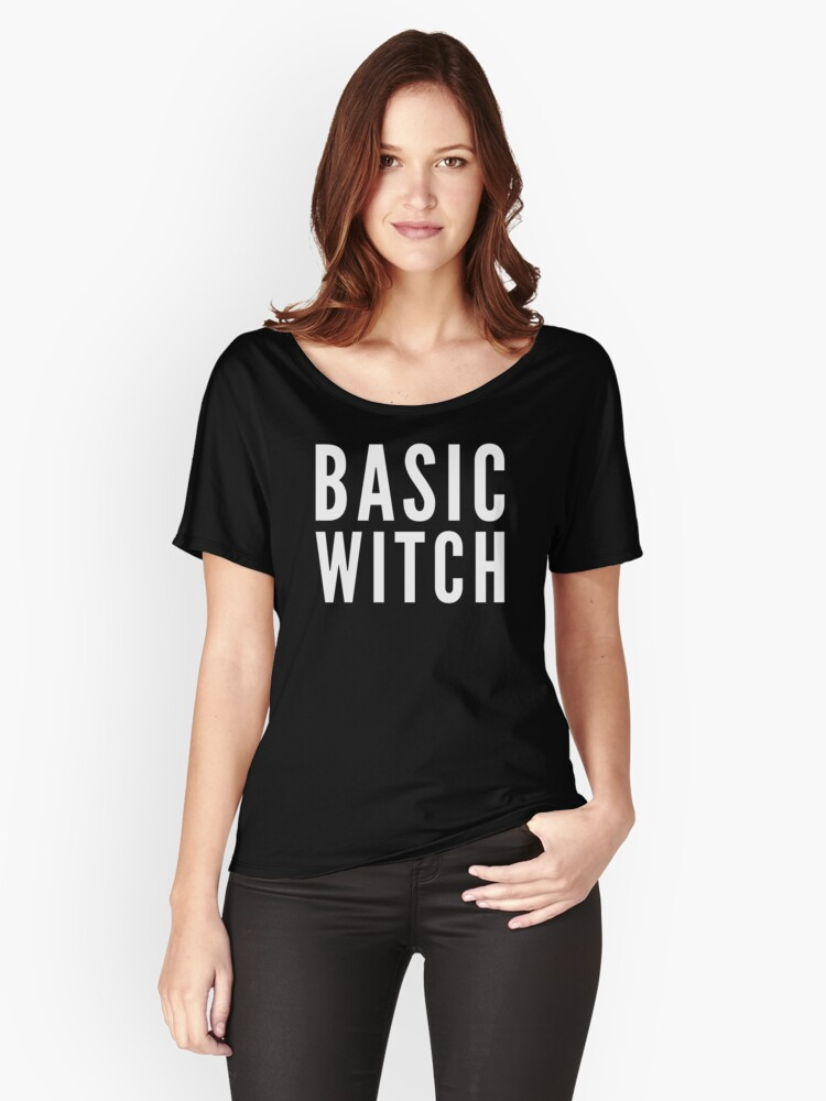 Basic Witch Women's Relaxed Fit T-Shirt Front