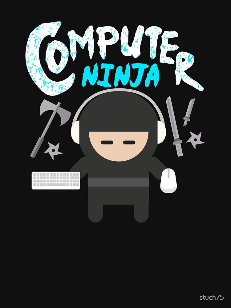 Computer Ninja by stuch75