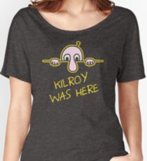 Kilroy Was Here. DK520 Best Product Women's Relaxed Fit T-Shirt