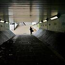Tunnel in Wandsworth by dreikelvin