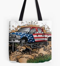 Mud Truck USA Mudder Bogging Tote Bag
