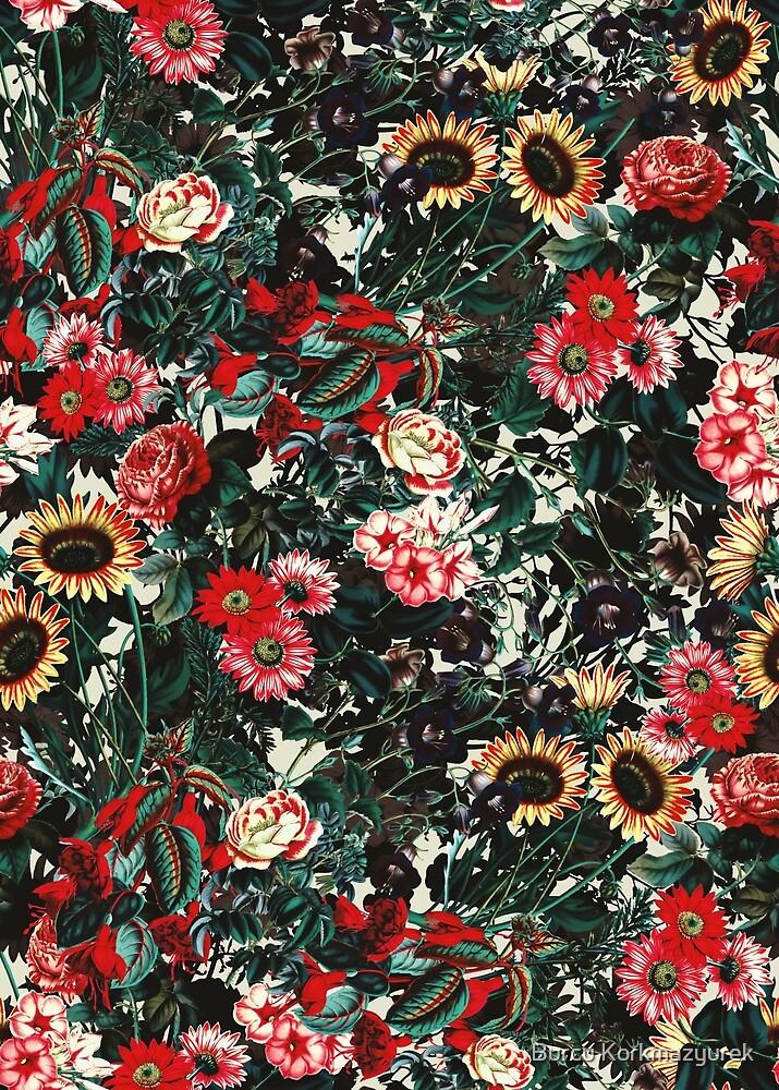 Flower Garden II by Burcu Korkmazyurek