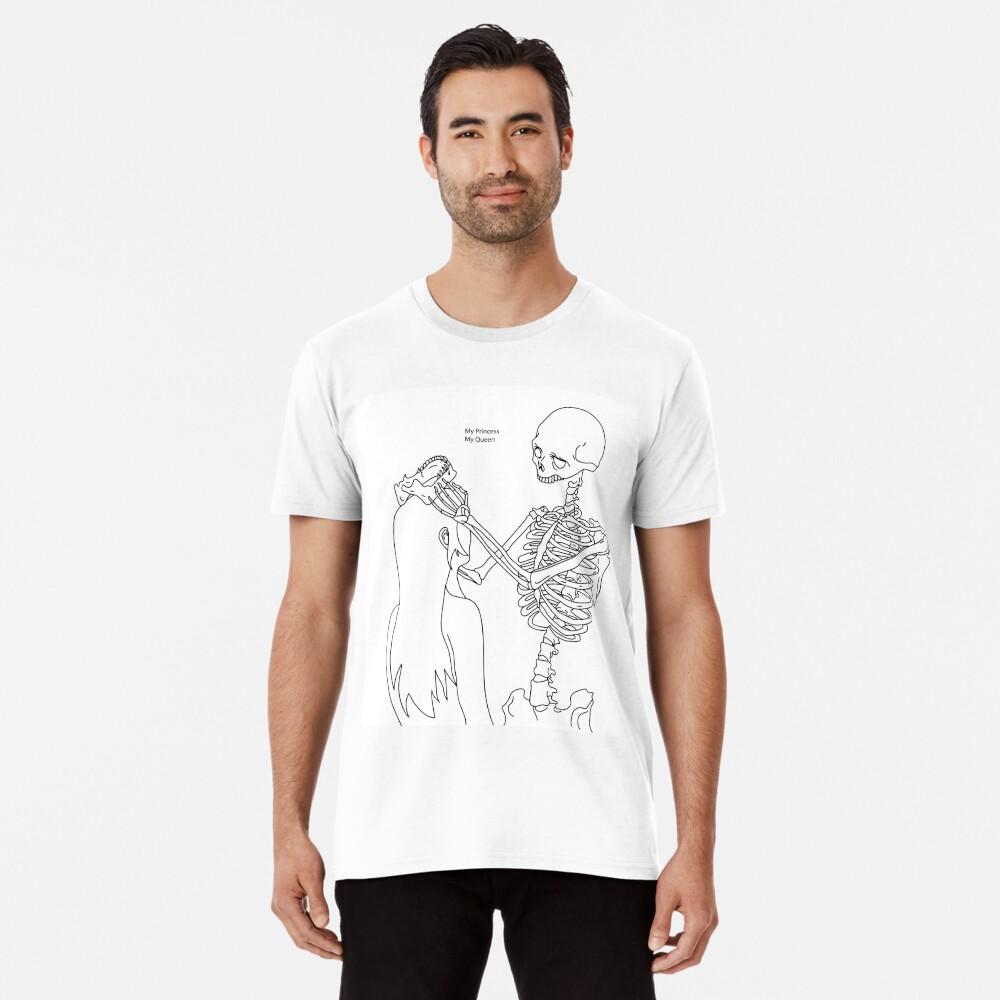 Skeleton Love Men's Premium T-Shirt Front