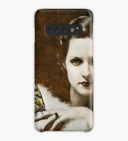 Madame Schmetterling Hülle & Klebefolie für Samsung Galaxy