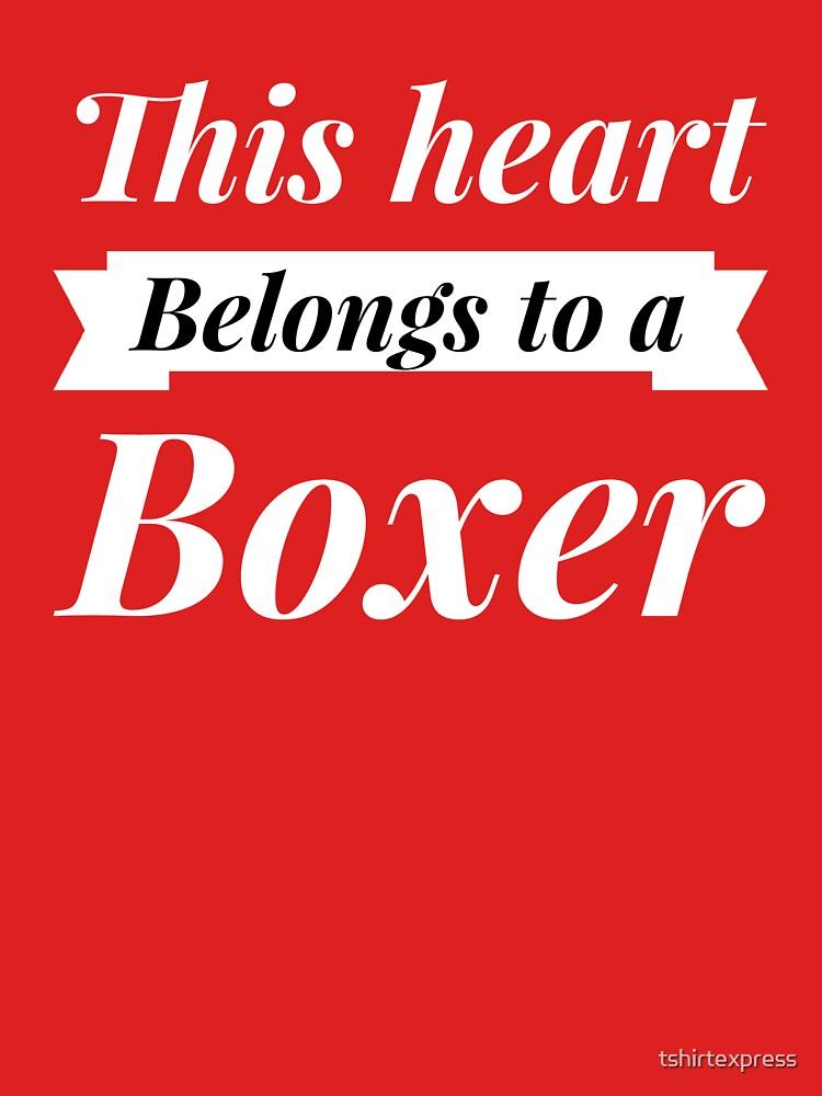 Boxer heart by tshirtexpress