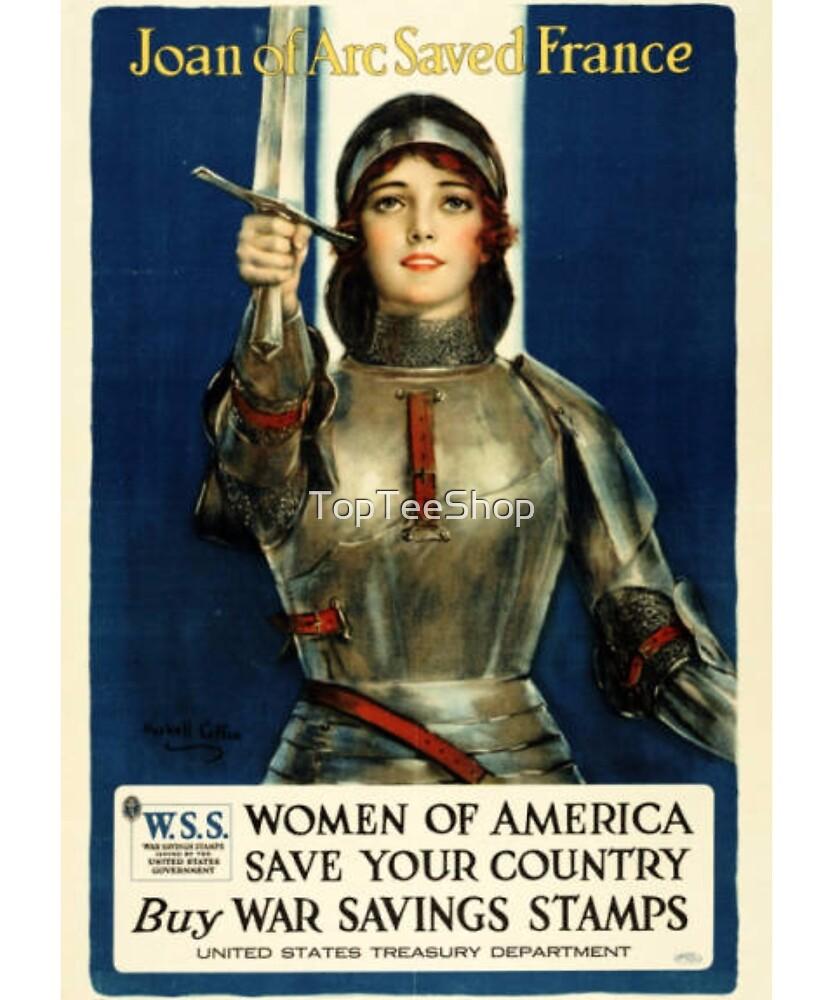Vintage WW1 T-Shirt USA World War I Military Retro Poster by TopTeeShop