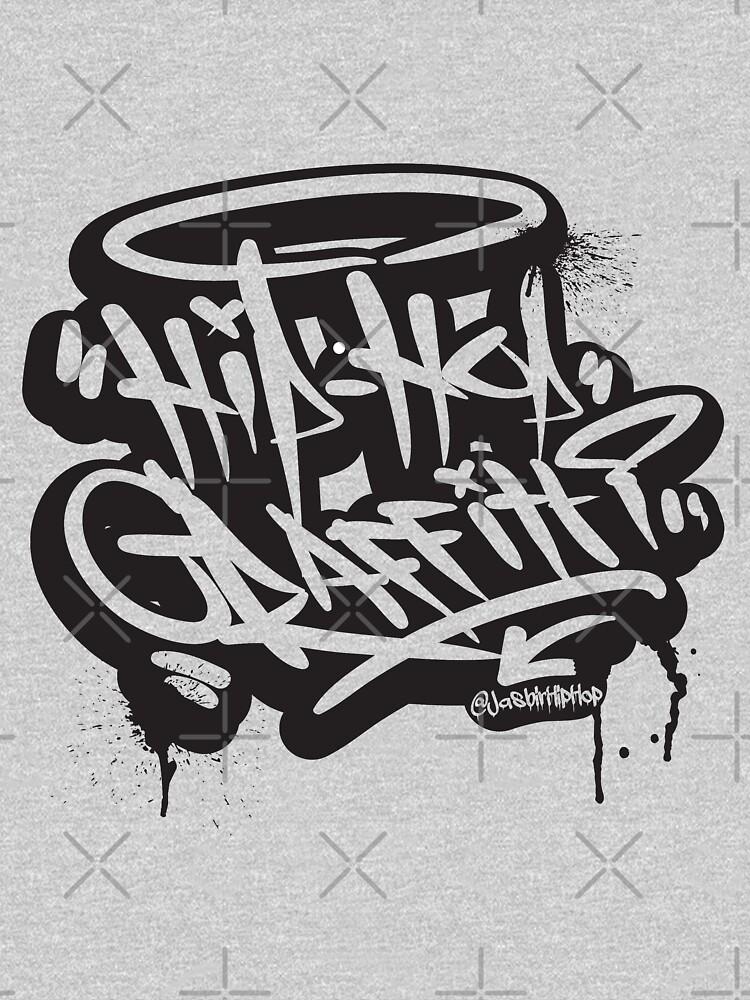 Hip-Hop Graffiti - T-Shirts & Hoodies by DesiHipHop